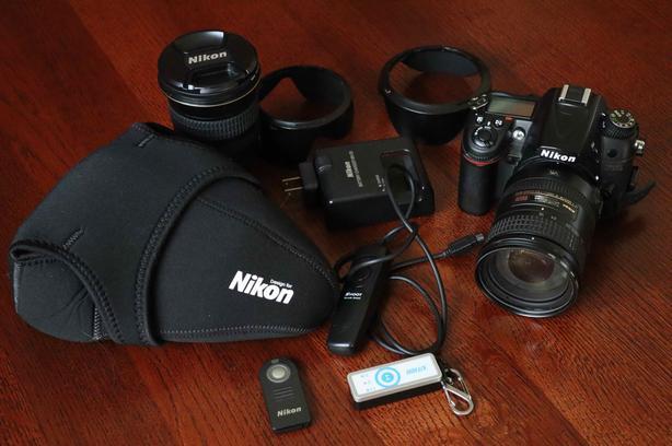Nikon D7000 + extras