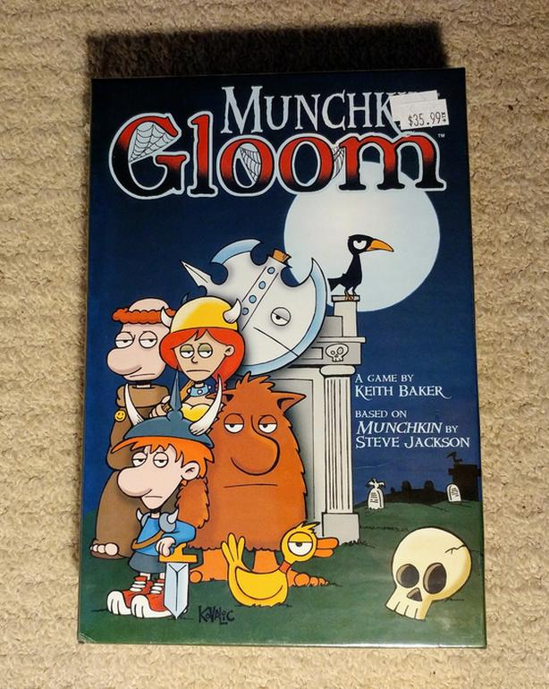 Munchkin Gloom board/card game