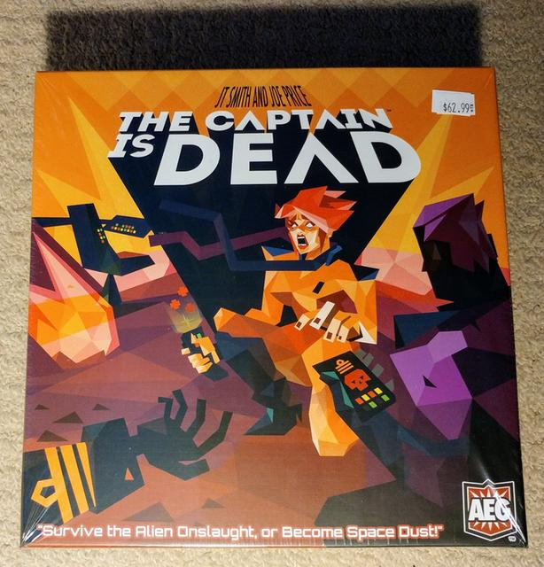 The Captain is Dead board game