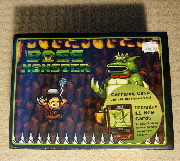 Boss Monster (board game) Collector Box carrying case