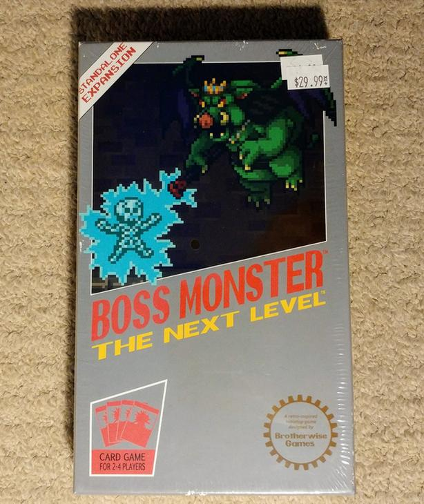Boss Monster 2: The Next Level board game r̶e̶t̶a̶i̶l̶ ̶$̶2̶9̶
