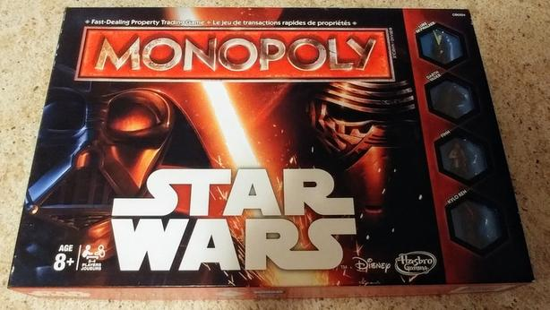 Monopoly board game - Star Wars
