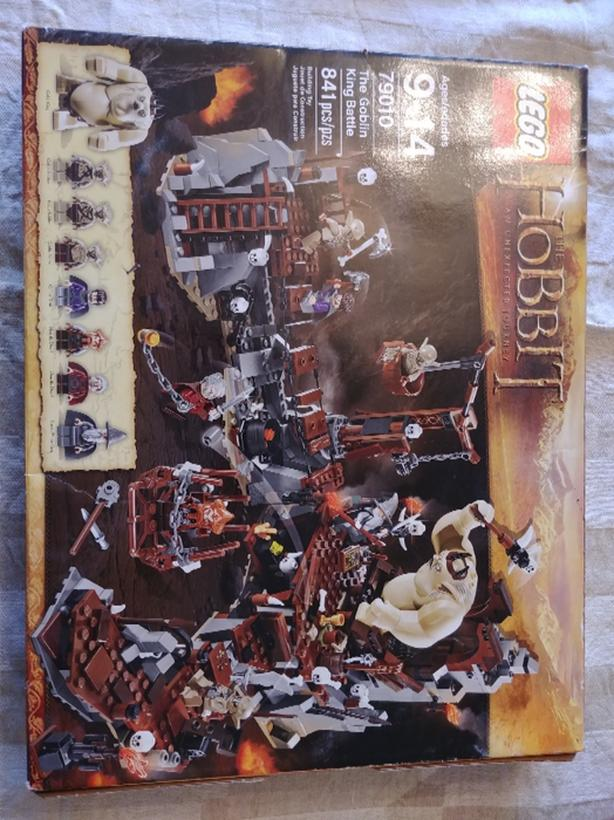 Lego set: Hobbit Goblin King Battle