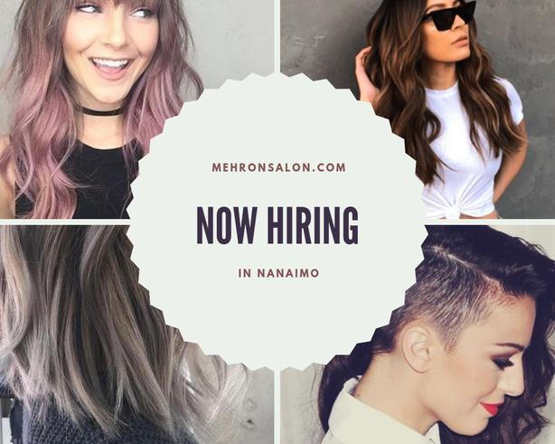 Hair Stylist Wanted for BUSY Salon in Nanaimo!