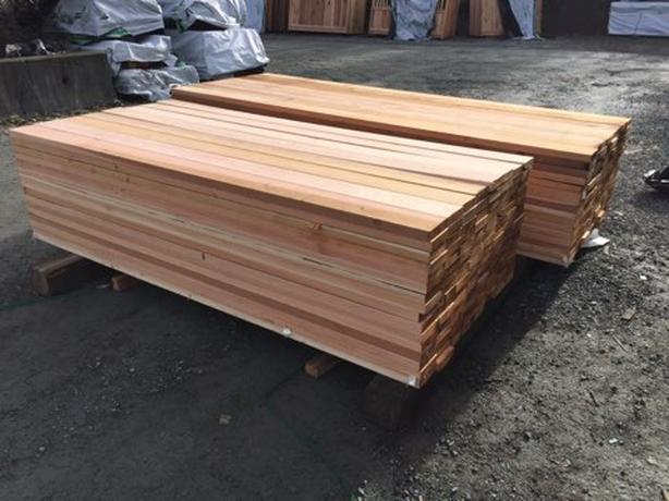 Cedar 5/4 x 6 S4SEE Premium