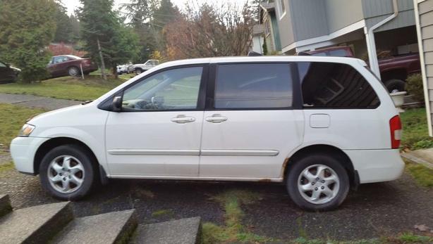 Minivan For Sale 2000 Mazda Mpv North Nanaimo Nanaimo