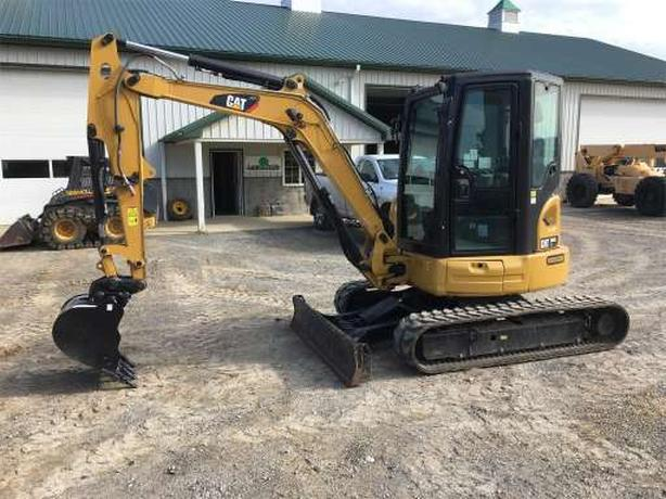 Excavators & heavy equipment for rent