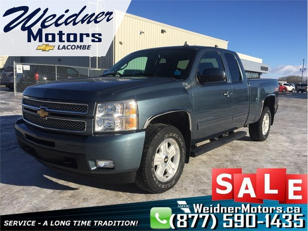 2013 Chevrolet Silverado 1500 LTZ 4x4 Extended Cab *Heated & Cooled Leather*