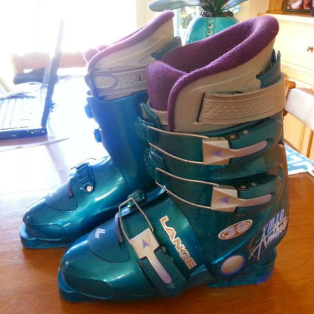 Ladies Lang ski boots