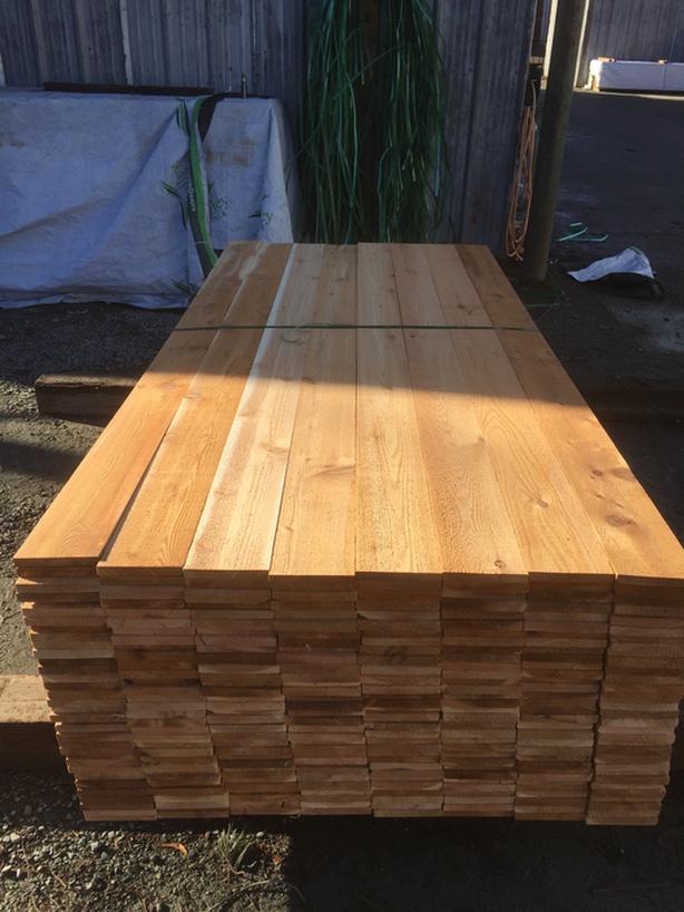 Cedar 1x6 Rough