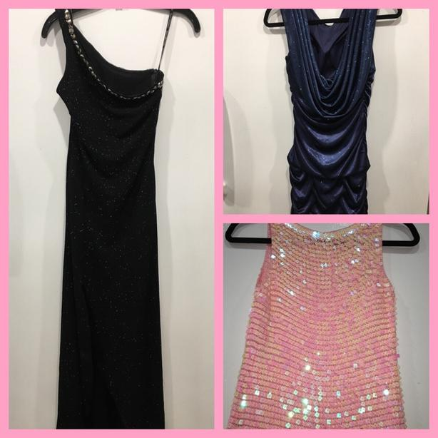 ASSORTED PARTY/CRUISE DRESSES!
