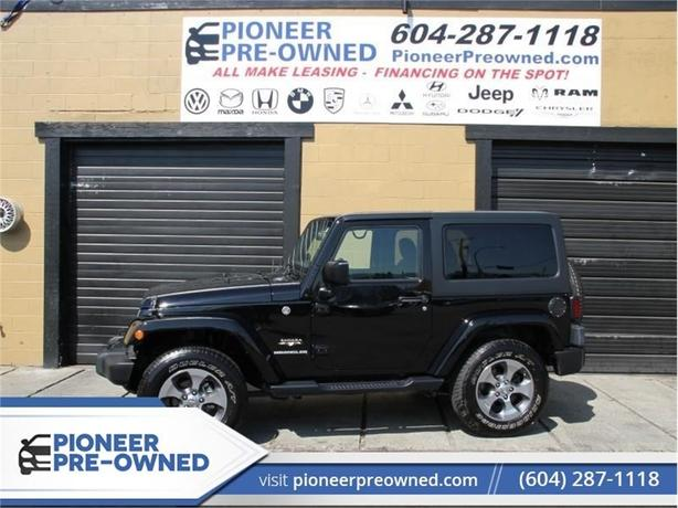 2017 Jeep Wrangler Sahara  - Bluetooth - Low Mileage