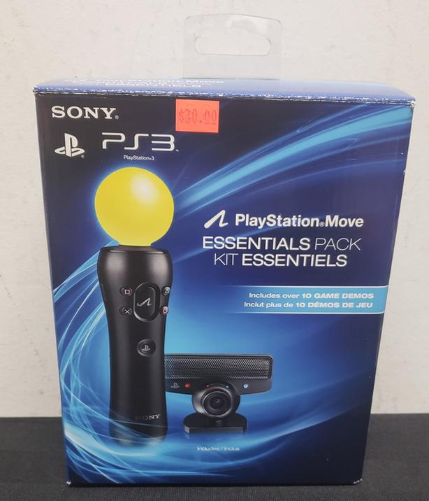 Sony PS3 PlayStation Move Essentials Pack Kit