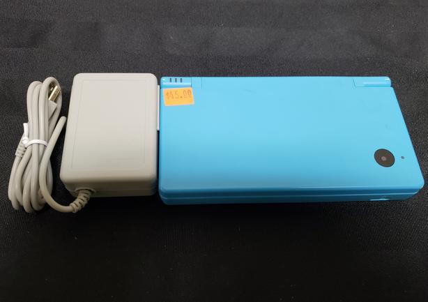 Blue Nintendo DSi Console