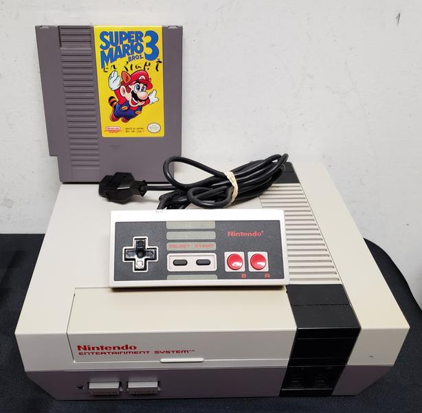 Original Nintendo NES Console Bundle