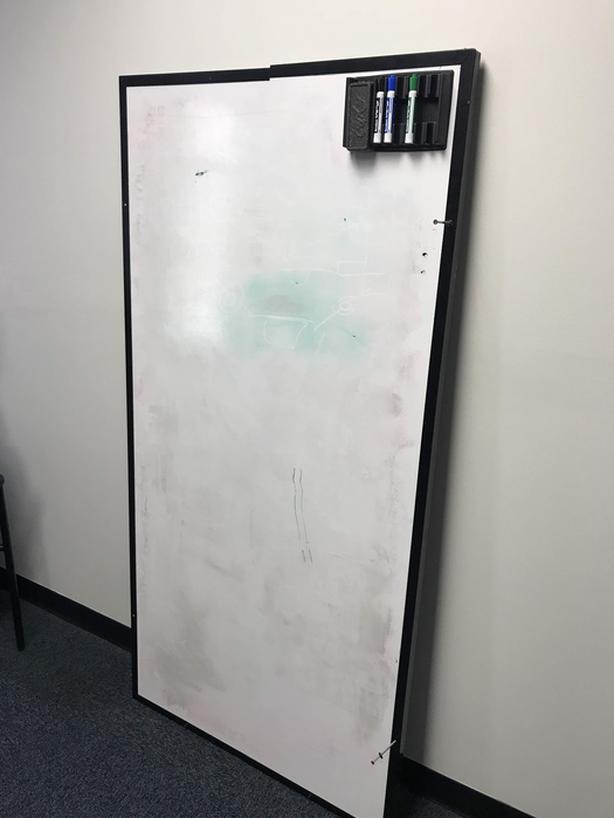3' x 6' white board