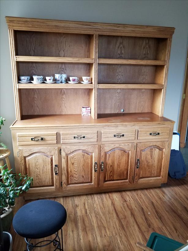 FREE -China Cabinet, solid wood