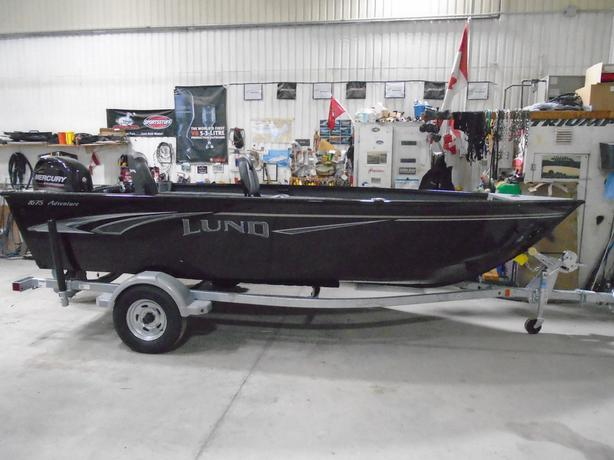 2019 Lund 1675 Adventure Tiller Black - LF765