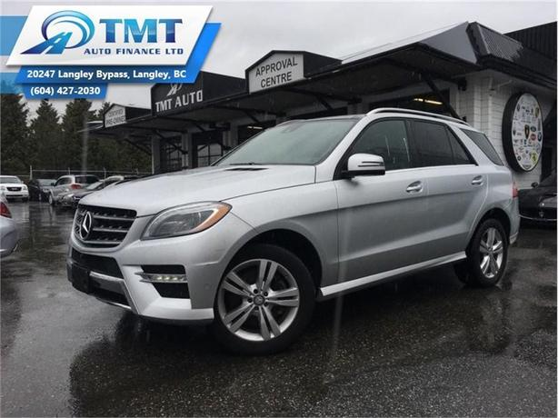 2015 Mercedes-Benz M-Class ML 350 BLUETEC  - $227.30 B/W