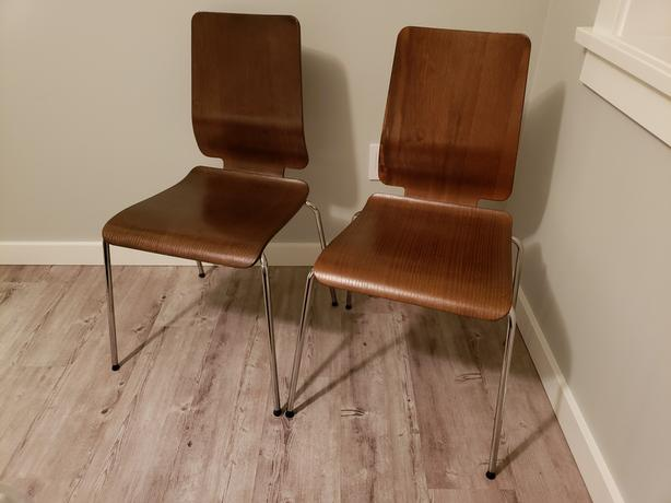Minty Fresh Two Ikea Gilbert Chairs Saanich Victoria Mobile