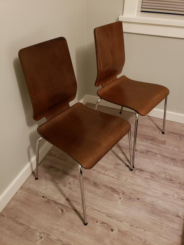 Minty Fresh Two Ikea Gilbert Chairs Saanich Victoria