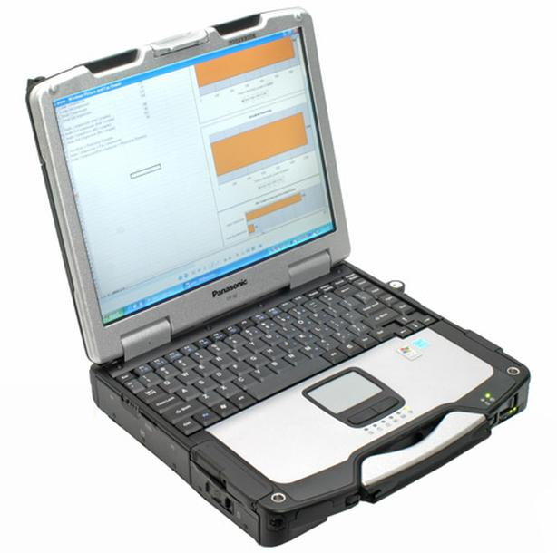 PANASONIC TOUGHBOOK C30 w/120 SSD and WIN 10 PRO!