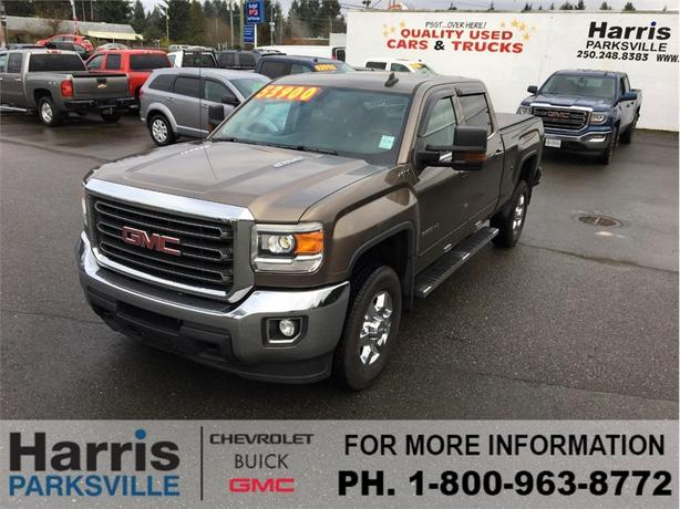 2015 gmc sierra 3500 standard box crew sle outside comox. Black Bedroom Furniture Sets. Home Design Ideas