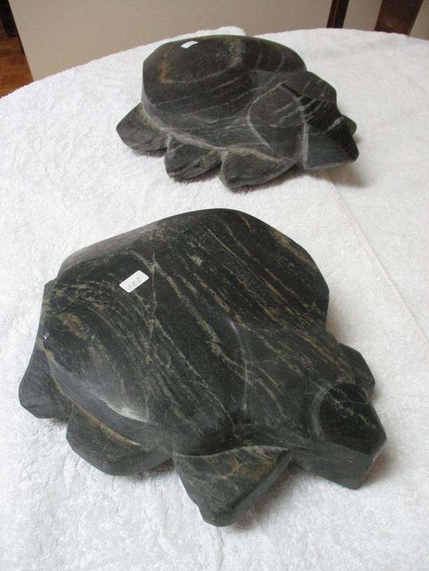 NATIVE STONE SCULPTURE FROM ESTATE