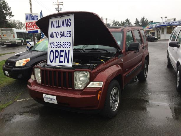2008 Jeep Liberty North Edition 4X4  WILLIAMS COLWOOD SALE