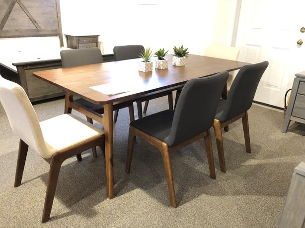Mid-century Modern Table & 4 Chair Set - SALE!