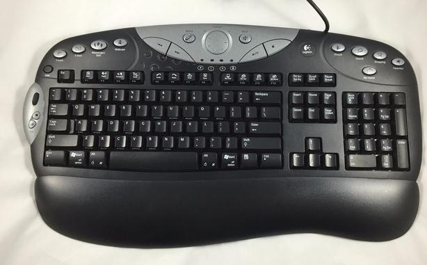 0b0040ed84d Lowest Price*** - Logitech Elite Multimedia USB Keyboard Saanich ...