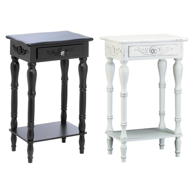 Awesome Accent Side End Table With Drawer Amp Shelf Choice Black Squirreltailoven Fun Painted Chair Ideas Images Squirreltailovenorg