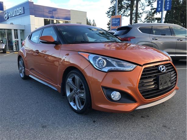 2015 Hyundai Veloster Turbo, NAV, Leather, Power moonroof