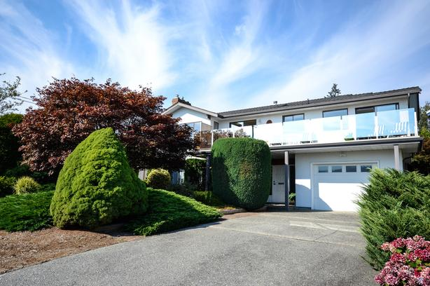 JUST LISTED: Timeless White Rock Home with Views of the Ocean and Semiahmoo Bay