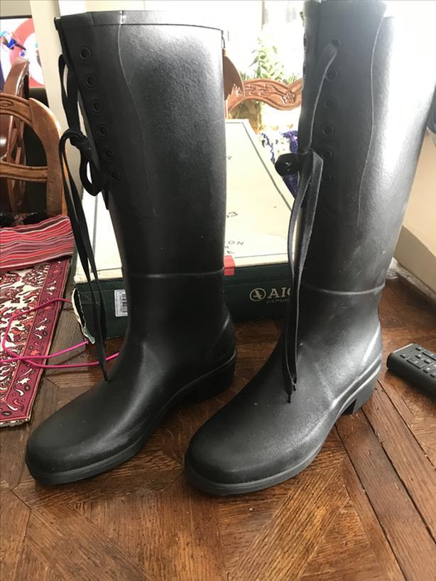 women's AIGLE rainboots