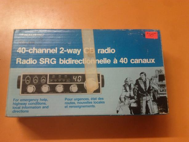 Vintage CB Radio