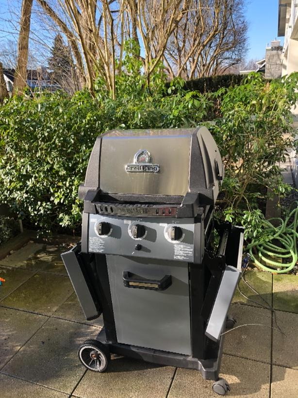 FREE: Broil King Monarch Barbecue with cover