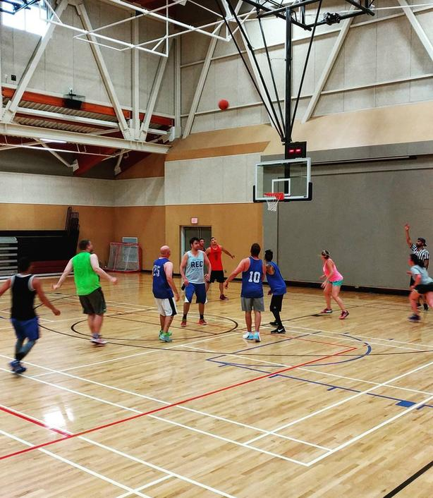 Play Winter Co-Ed Adult Basketball Leagues!