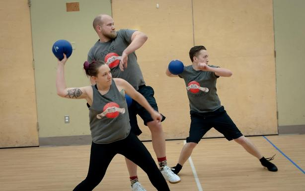 Play Winter Co-Ed Adult Dodgeball Leagues!