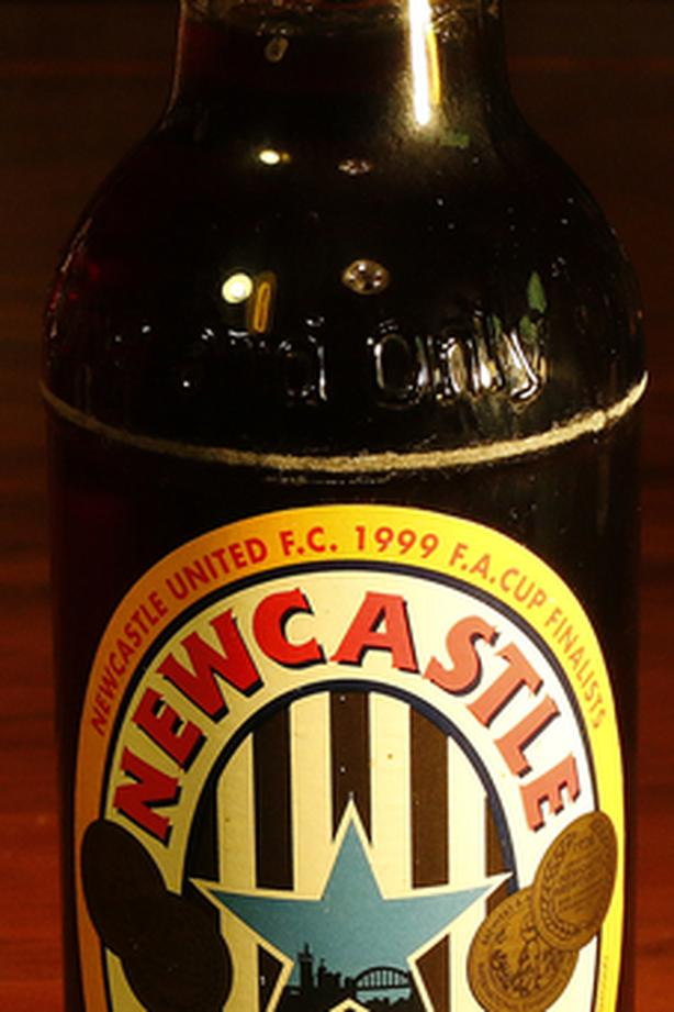Newcastle Brown FA Cup 1999 Commemorative Unopened Beer (NUFC)
