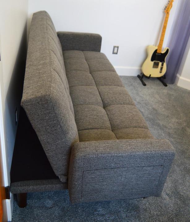 Wondrous Beautiful New Mid Century Modern Sofa Bed Nanoose Bay Machost Co Dining Chair Design Ideas Machostcouk