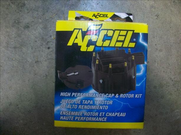 Accel Distributor cap &