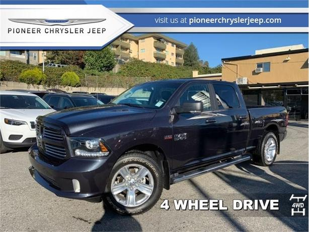 2017 Ram 1500 Sport  -Leather Heated Seats -Nav