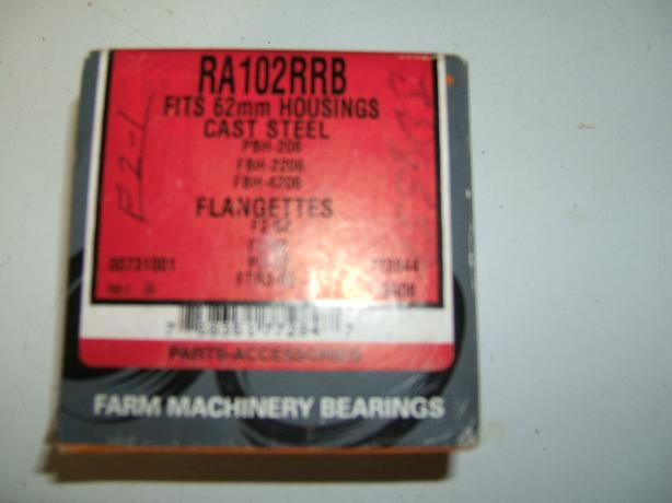 BRAND NEW FAFNIR/TIMKEN RA102RRB BEARING INSERT W/LOCKING COLLAR