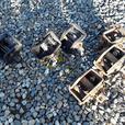 6x Heavy duty Ratchets