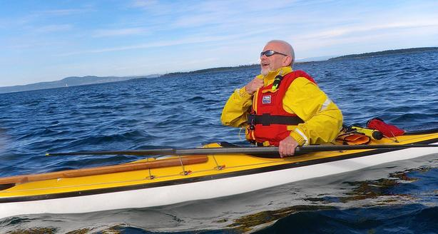 Couples B&B Paddling Week-End: Novice/Intermediate Ocean Kayak Course