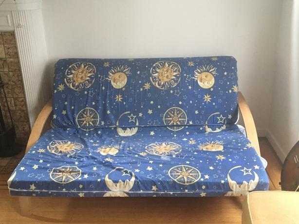 comfortable futon in great condition!