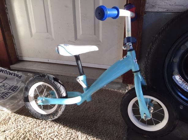 push 2 wheeler bike