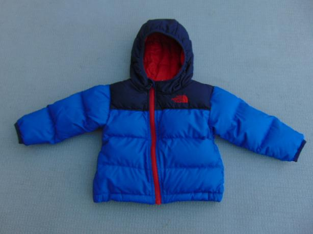Winter Coat Child Size 6-12 Month Infant The North Face 550 Goose Down Filled