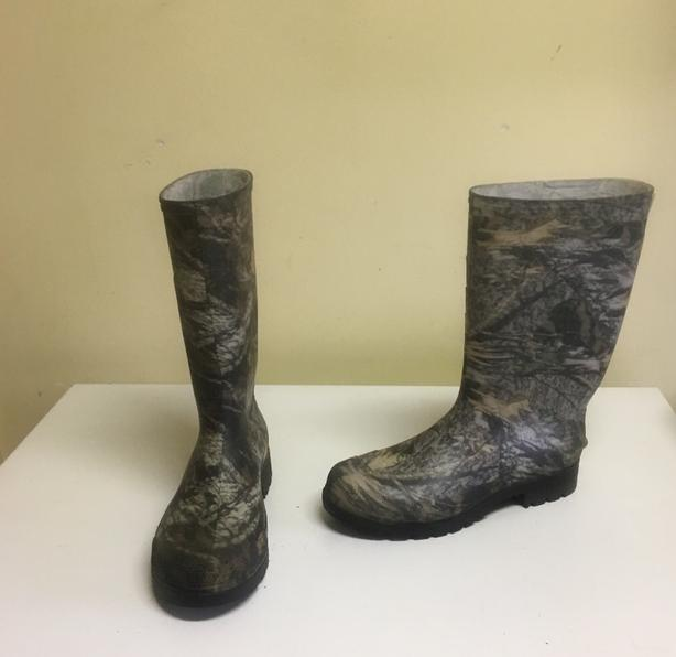 Camo Rubber Boots Mens Size 9 US